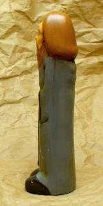 statuette phallique de Jésus, de profil