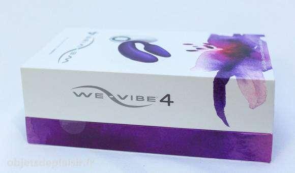 La boîte de We Vibe 4