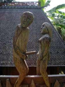 clôture du musée d'ethnologie de Hanoï