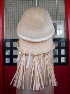 pénis en pierre du sanctuaire de la fertilité de Nikaho