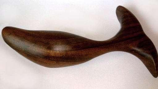 Un plug anal en bois réalisé par Idée du Désir