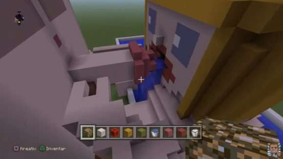 Minecraft blowjob