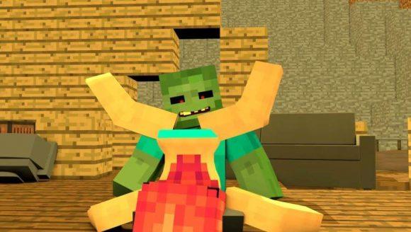 Minecraft sexe zombie