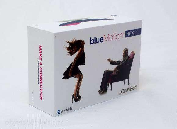 L'emballage du OhMiBod BlueMotion
