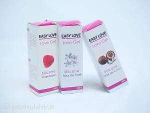 lubrifiants Silicone Love gel Easy Love