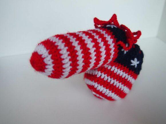 willy warmer drapeau USA