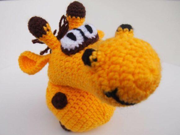 chaussette pour pénis girafe