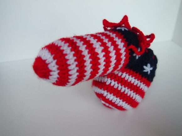 willy warmer drapeau USA