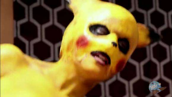 Dickachu dans parodie porno de Pokémon