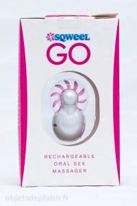 Le Sqweel Go dans son emballage