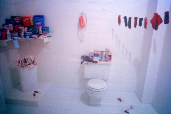 Menstruation Bathroom, de Judy Chicago