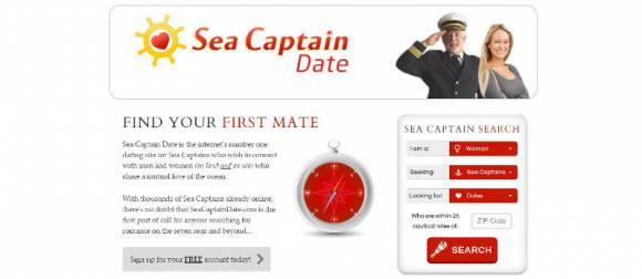 Sea Captain Date, site de rencontres pour les capitaines de navires
