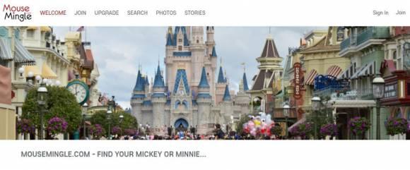 Mouse Mingle, site de rencontres pour les fans de Disney