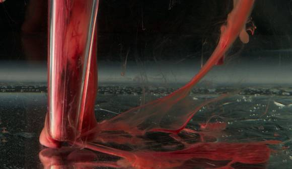 Sucked Up, de Beauty in Blood, de l'art avec du sang menstruel