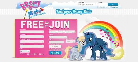 Site de rencontres pour les fans de Mon petit Poney