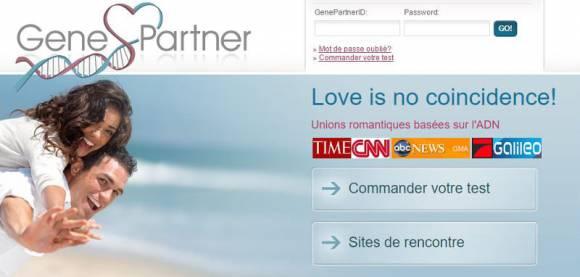 GenePartner, site de rencontres par compatibilité génétique