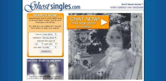 Ghost Singles, site de rencontres pour les fantômes