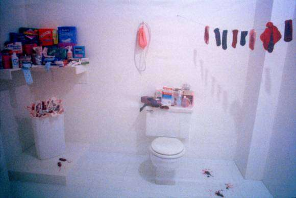 Menstruation Bathroom, de Judy Chicago