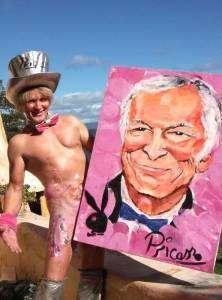 Faire de l'art avec son sexe : Pricasso, peintre avec son pénis