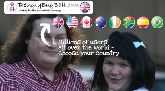 The UglyBugBall, site de rencontres pour les moches