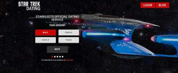 Trek Dating, site de rencontres pour les fans de Star Trek