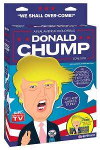 Donald Chump, la poupée gonflable Donald Trump