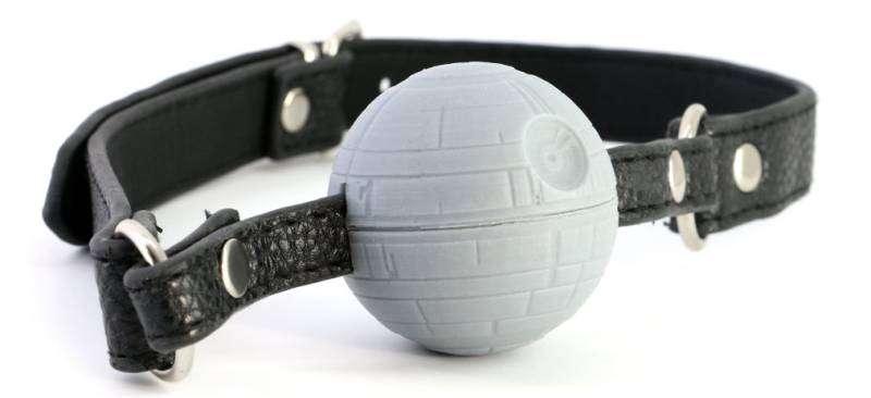 sextoys Star Wars : bâillon étoile noire
