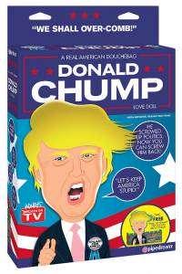 Donald Chump, la poupée gonflable Donald Trump