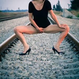 Exhibitionnisme sur la voie ferrée