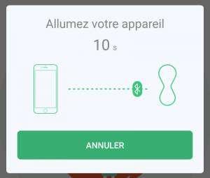 Connecter les Gballs à un smartphone