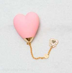Le vibromasseur Lolita Baby Heart de Zalo