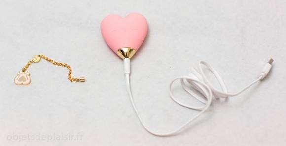 Branchement du câble de chargement du vibro cœur