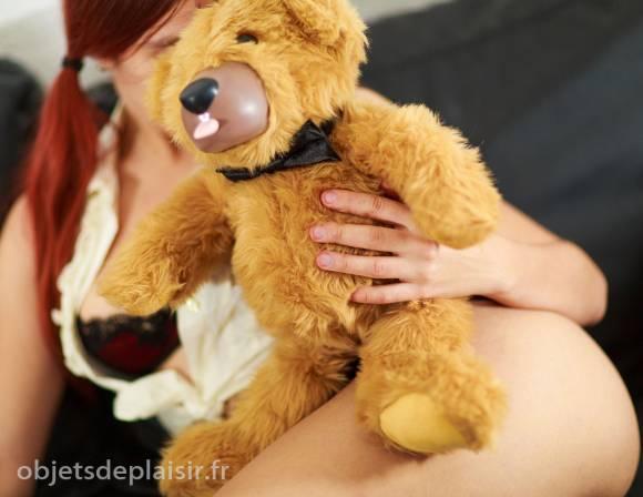 le Teddy Love, ours en peluche vibrant