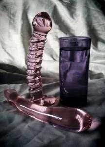 Sextoy du jour - Godes en verre