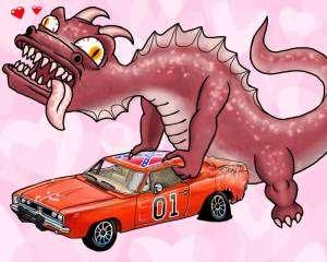 Du porno insolite : Dragons fucking cars