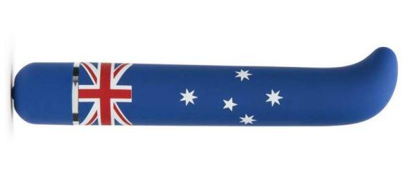 Vibro aux couleurs du drapeau australien