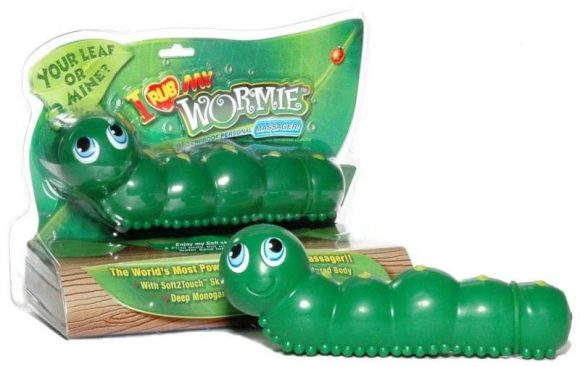 sextoys insectes : le I rub my Wormie, sextoy chenille de big teaze toys