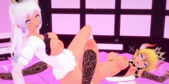 bowsette et booette porno