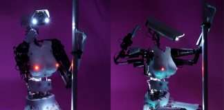 CardiBot, le robot camgirl