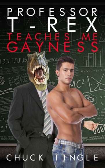 Livreérotique avec des dinosaures - Professor T-Rex teaches me gayness