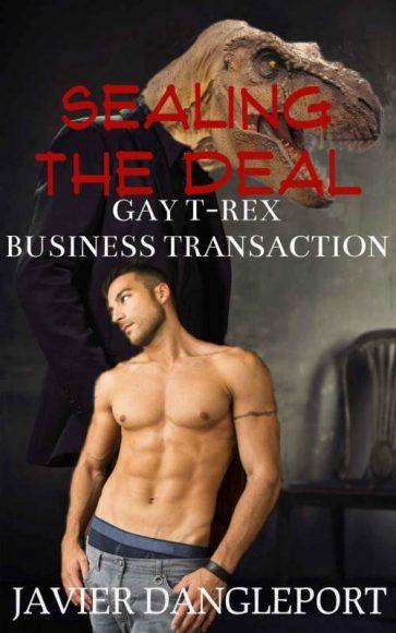 Gay T-Rex business transaction, un livreérotique avec des dinosaures