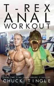 un livre érotique avec des dinosaures gay et de la muscu