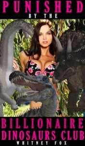 un livre érotique BDSM avec des dinosaures milliardaires