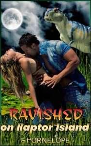 Livreérotique avec des dinosaures - Ravished on Raptor island