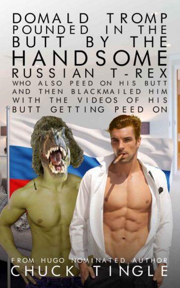 Donald Tromp et le T-Rex russe : un histoire d'urophilie