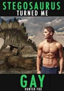 Livreérotique avec des dinosaures - Stegosaurus turned me gay