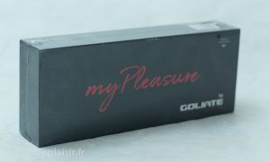 Emballage du vibro Goliate My Pleasure