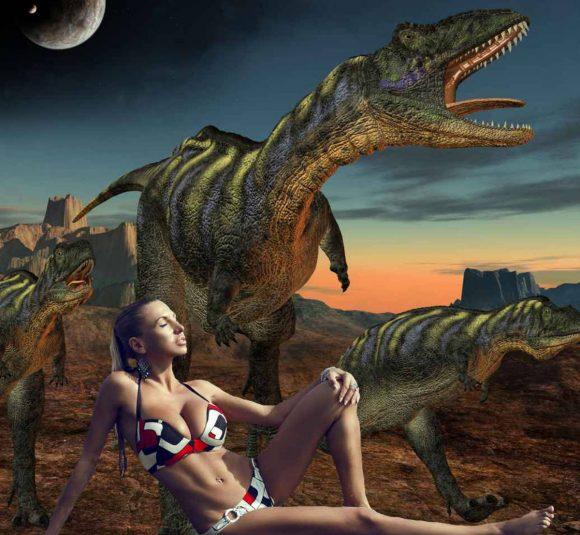 livre érotique avec des dinosaures