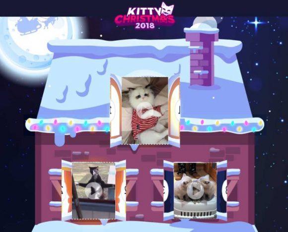 kitty christmas 2018