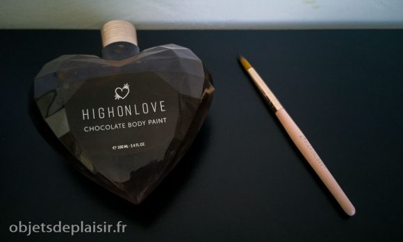 peinture corporelle au chocolat HighOnLove